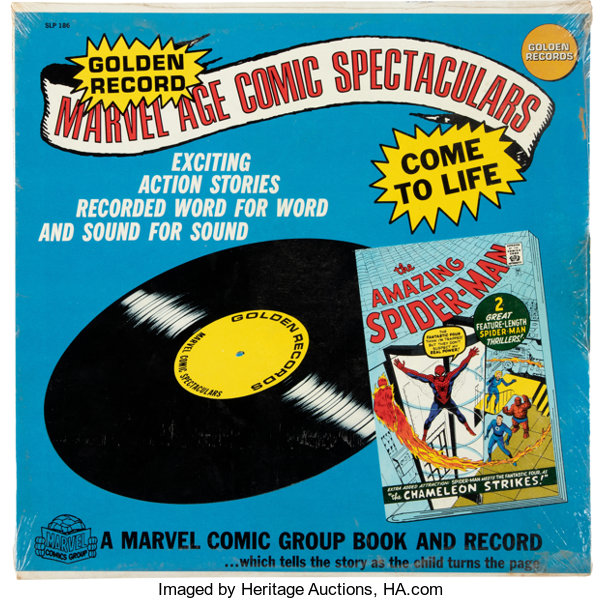 407a187912860 Steve Ditko Golden Record Marvel Age Comic Spectaculars: The | Lot ...