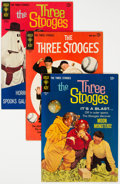 Silver Age (1956-1969):Humor, Three Stooges File Copies Group of 27 (Gold Key, 1963-72) Condition: Average VF-.... (Total: 27 )