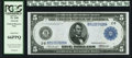 Fr. 848 $5 1914 Federal Reserve Note PCGS Gem New 66PPQ