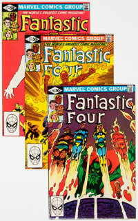 Fantastic Four #232-300 Near Complete Range Group (Marvel, 1981-87) Condition: Average NM-.... (Total: 68 )