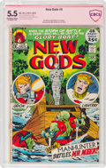 Bronze Age (1970-1979):Superhero, The New Gods #6 (DC, 1971) CBCS Signature Series FN- 5.5 Off-white to white pages....