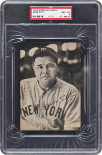 1948 American Association Babe Ruth PSA NM-MT 8 - Pop One, None Higher!