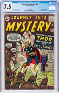 Silver Age (1956-1969):Superhero, Journey Into Mystery #84 (Marvel, 1962) CGC VF- 7.5 Cream to off-white pages....