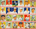Baseball Cards:Other, 1933 Goudey Baseball Uncut Sheet of Twenty-Four Cards Including Babe Ruth #181....