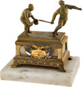 Baseball Collectibles:Others, 1922 Ban Johnson Commemorative Baseball Trophy Presented to the Government of Mexico....