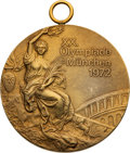 Basketball Collectibles:Others, 1972 Munich Olympics Men's Basketball Gold Medal Presented...