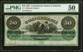 T4 $50 1861 PF-2 Cr. 4 PMG About Uncirculated 50
