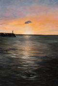 Paintings:Contemporary   (1950 to present), Eric Zener (American, b. 1966). Untitled (Sunset). Oil on canvas. 64 x 43-1/2 inches (162.6 x 110.5 cm). Signed on the r...