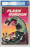 Silver Age (1956-1969):Science Fiction, Flash Gordon #1 File Copy (Gold Key, 1965) CGC NM 9.4 Off-white pages....