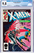 Modern Age (1980-Present):Superhero, Uncanny X-Men #201 (Marvel, 1986) CGC NM/MT 9.8 White pages....