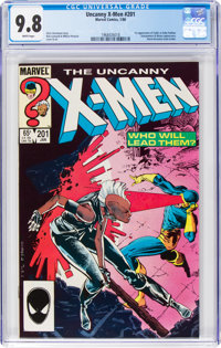 Uncanny X-Men #201 (Marvel, 1986) CGC NM/MT 9.8 White pages