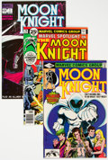 Modern Age (1980-Present):Superhero, Moon Knight Group of 62 (Marvel, 1976-85) Condition: Average NM-.... (Total: 62 )