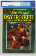 Golden Age (1938-1955):Miscellaneous, Dell Giant Comics: Davy Crockett #1 (Dell, 1955) CGC NM 9.4 Off-white pages....