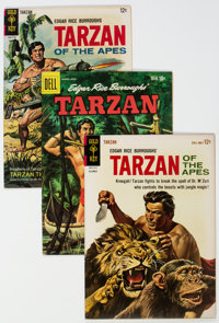 Tarzan-Related File Copies Group of 49 (Dell/Gold Key, 1959-71) Condition: Average VF+.... (Total: 49 Comic Books)