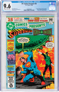 Modern Age (1980-Present):Superhero, DC Comics Presents #26 Superman and Green Lantern (DC, 1980) CGC NM+ 9.6 Off-white to white pages....