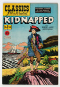 Golden Age (1938-1955):Classics Illustrated, Classics Illustrated #46 Kidnapped - First Edition (Gilberton, 1948) Condition: VF+....