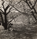 Photographs:Gelatin Silver, John Albok (American, 1894-1983). The Artist, Central Park, New York, 1933. Gelatin silver. 11-1/4 x 10-5/8 inches (28.6...