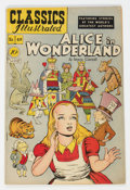 Golden Age (1938-1955):Classics Illustrated, Classics Illustrated #49 Alice in Wonderland -- First Edition (Gilberton, 1948) Condition: VF....