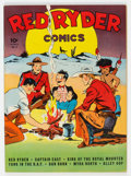 Golden Age (1938-1955):Western, Red Ryder Comics #6 (Dell, 1942) Condition: VF/NM....
