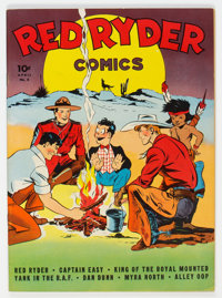 Red Ryder Comics #6 (Dell, 1942) Condition: VF/NM