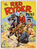 Memorabilia:Comic-Related, Red Ryder Paint Book #647 (Whitman, 1941) Condition: NM....