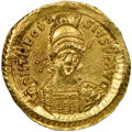 Ancients:Roman Imperial, Theodosius II, Eastern Roman Empire (AD 402-450). AV solid...