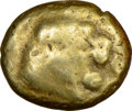 Ancients: LYDIAN KINGDOM. Alyattes (ca. 610-560 BC). EL sixth stater or hecte (11mm). NGC VG