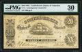 Confederate Notes:1861 Issues, SF9/33 $20 Stolen Print Shop Sheet 1861 PMG Very Fine 30.. ...
