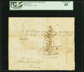 Colonial Notes:Connecticut, Connecticut Pay Table Office June 7, 1780 £10.12s.0d PCGS Extremely Fine 40.. ...