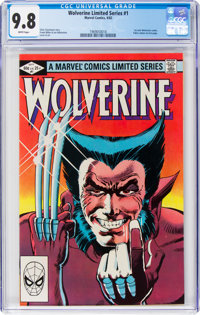 Wolverine Limited Series #1 (Marvel, 1982) CGC NM/MT 9.8 White pages