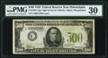 Fr. 2201-C $500 1934 Light Green Seal Federal Reserve Note. PMG Very Fine 30