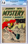 Silver Age (1956-1969):Superhero, Journey Into Mystery #86 (Marvel, 1962) CGC FN/VF 7.0 Off-white to white pages....