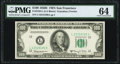 Small Size:Federal Reserve Notes, Fr. 2162-L $100 1950E Federal Reserve Note. PMG Choice Uncirculated 64.. ...