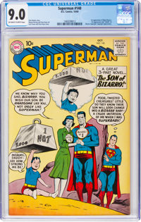 Superman #140 (DC, 1960) CGC VF/NM 9.0 Off-white to white pages