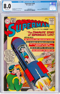 Superman #146 (DC, 1961) CGC VF 8.0 Off-white pages