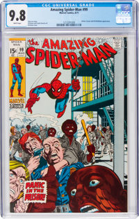 The Amazing Spider-Man #99 (Marvel, 1971) CGC NM/MT 9.8 White pages
