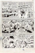 Original Comic Art:Panel Pages, Jack Kirby, Don Heck, and Mike Esposito Strange Tales #146 Story Page 8 Original Art (Marvel, 1966)....