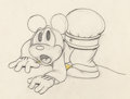 Animation Art:Production Drawing, Mickey's Service Station Mickey Mouse Animation Drawing (Disney, 1935)....