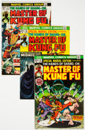 Bronze Age (1970-1979):Superhero, Master of Kung Fu-Related Box Lot (Marvel, 1970s-2000s) Condition: Average VG+....