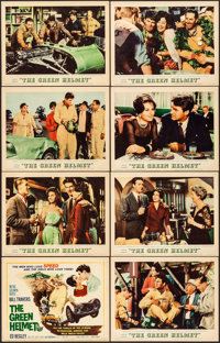 "The Green Helmet & Other Lot (MGM, 1961). Overall: Very Fine-. Lobby Card Sets of 8 (2 Sets) (11"" X 14""..."