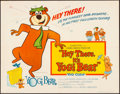 "Movie Posters:Animation, Hey There, It's Yogi Bear (Columbia, 1964). Folded, Very Fine. Half Sheet (22"" X 28""). Animation.. ..."