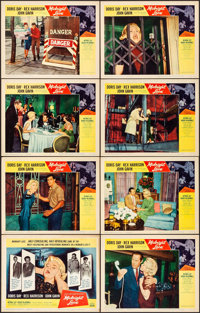 "Midnight Lace (Universal International, 1960). Overall: Very Fine. Lobby Card Set of 8 (11"" X 14""). Thriller..."