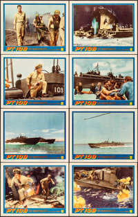 """PT 109 (Warner Brothers, 1963). Very Fine. Lobby Card Set of 8 (11"""" X 14""""). War. ... (Total: 8 Items)"""