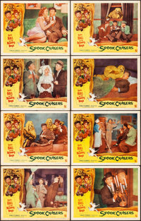 """Spook Chasers (Allied Artists, 1957). Overall: Very Fine-. Lobby Card Set of 8 (11"""" X 14""""). Comedy. ... (Total..."""