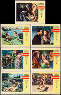 "Movie Posters:Adventure, Ulysses (Paramount, 1955). Fine/Very Fine. Lobby Cards (7) (11"" X 14""). Adventure.. ... (Total: 7 Items)"