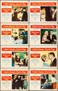 "Movie Posters:Romance, Teacher's Pet (Paramount, 1958). Very Fine-. Lobby Card Set of 8 (11"" X 14""). Romance.. ... (Total: 8 Items)"