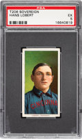 Baseball Cards:Singles (Pre-1930), 1909-11 T206 Sovereign 150 Hans Lobert PSA EX 5 - Pop Two, Three Higher for Brand. ...