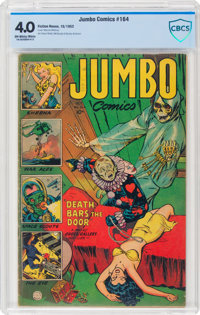 Jumbo Comics #164 (Fiction House, 1952) CBCS VG 4.0 Off-white to white pages