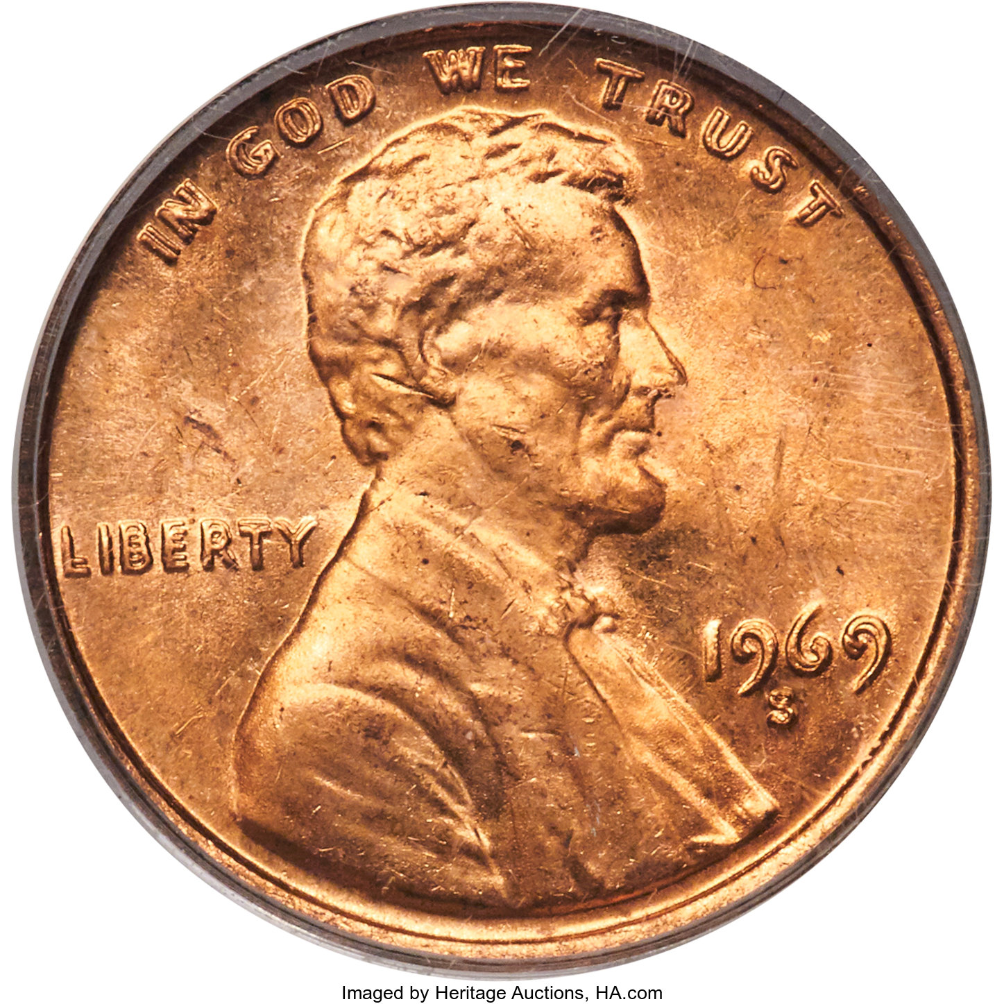 1969 P Lincoln Penny From Mint Roll 20/% off 5+