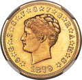 Proof Four Dollar Gold Pieces, 1879 $4 Coiled Hair, Judd-1638, Pollock-1838, JD-1, R.6, PR63 NGC....